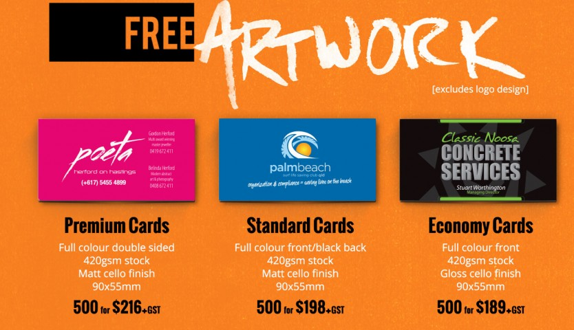 Business card offer free artwork for a limited time only sunrise business card offer free artwork for a limited time only reheart Image collections